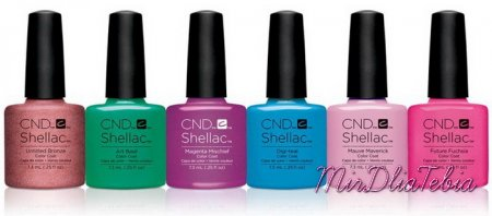 Весенняя коллекция CND Shellac Art Vandal Nail Collection Spring 2016